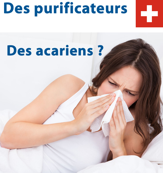 Purificateurs d air des acariens