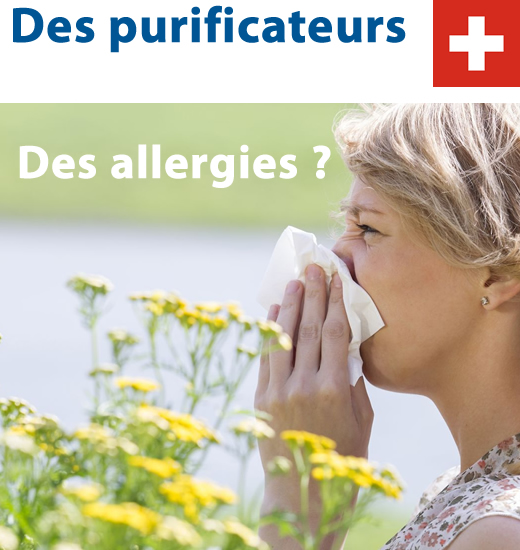 Purificateurs d'air des allergies