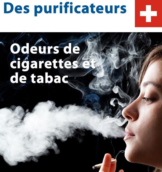Purificateurs d air odeurs de cigarettes et de tabac