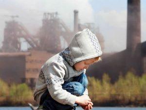 Luchtvervuiling kinderen